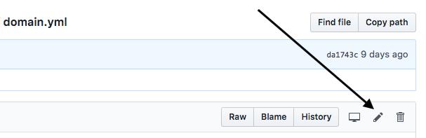 Editing Bot Responses — Rasa Platform 0 14 4 documentation